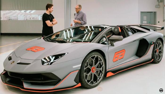 ฆอร์เฆ โลเรนโซ ถอยรถหรู Lamborghiniรุ่นลิมิเต็ด ราคาหลักล้าน