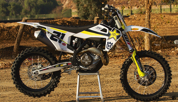 HUSQVARNA FC450 Rockstar Editionความแรงระดับตัวแข่ง ihatebillgates รีวิวรถ Motorbike